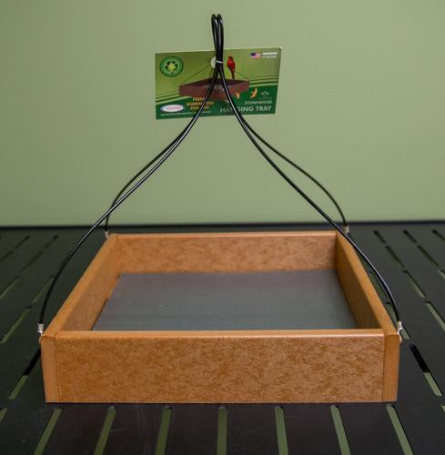 USA made Hanging Tray Feeder - 12 x 12