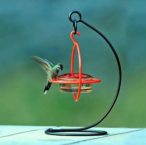 Hummble Easy Hook Tabletop Stand with feeder