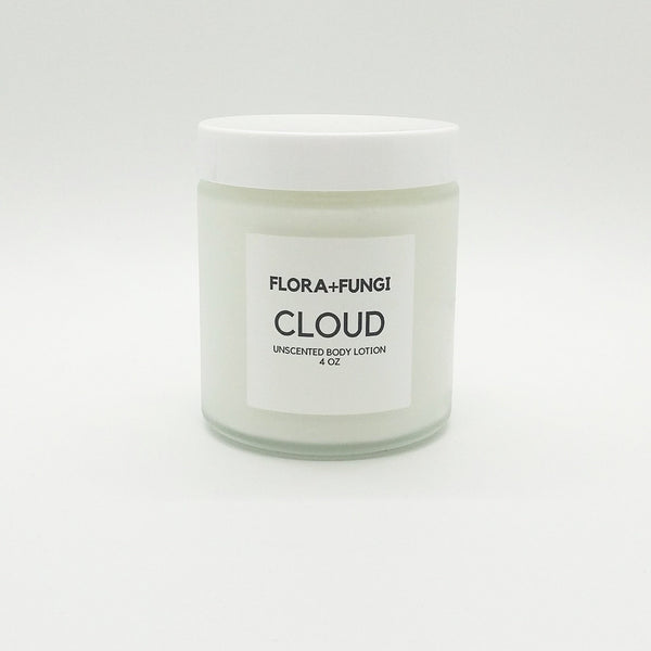 cloud unscented body lotion