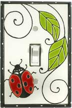 Ladybug Light Switch Plate Covers