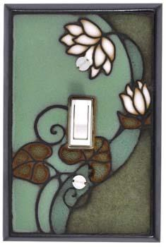 Lily Pad Light Switch Plate Covers