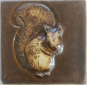 Squirrel tile