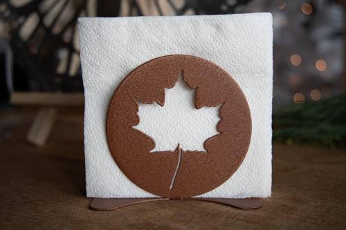 Maple Leaf Napkin Holder