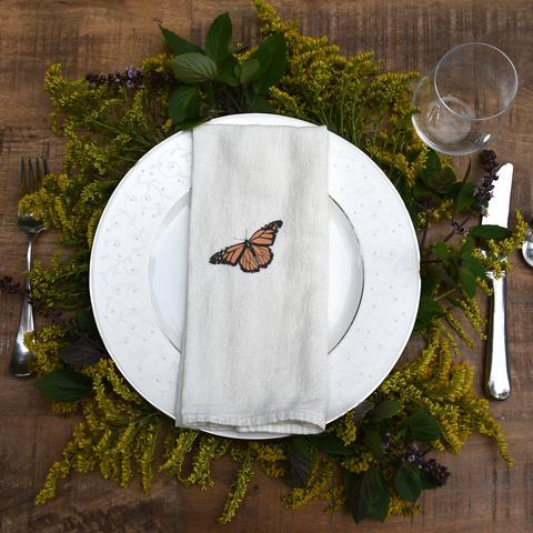 Monarch napkin