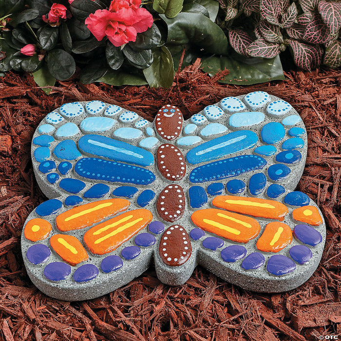 Paint Your Own Stepping Stone: Butterfly 1