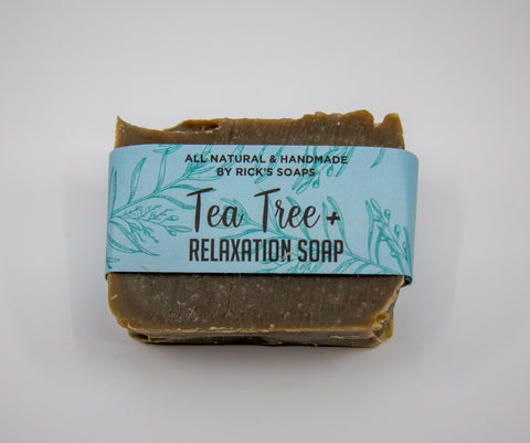 tea tree with relaxation soap