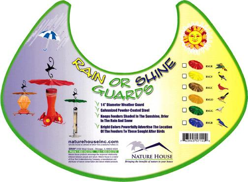 All Weather Guard for bird feeders