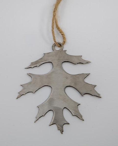 stainless steel pin oak ornament