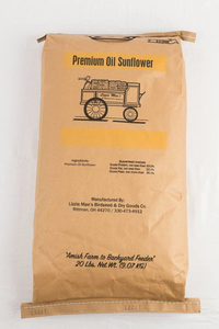 Premium Oil  Sunflowers 20lb bag