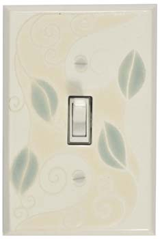 Trailing Vine Single Light Switch Plate