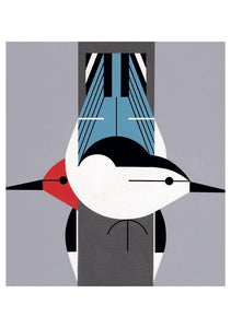 CHARLEY HARPER: UPSIDE DOWNSIDE NOTECARD