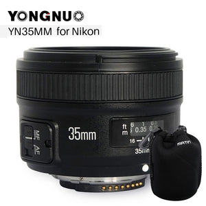 35mm F2 Camera Lens for Nikon Canon EOS