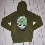 Grateful Wave Mineral Washed Hoodie