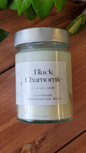 Black Chamomile | 10 oz Soy Candle