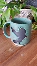 Load image into Gallery viewer, Green Raven Mug
