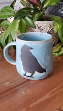Load image into Gallery viewer, Blue Raven Mug