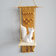 Load image into Gallery viewer, Macrame Shelf #2