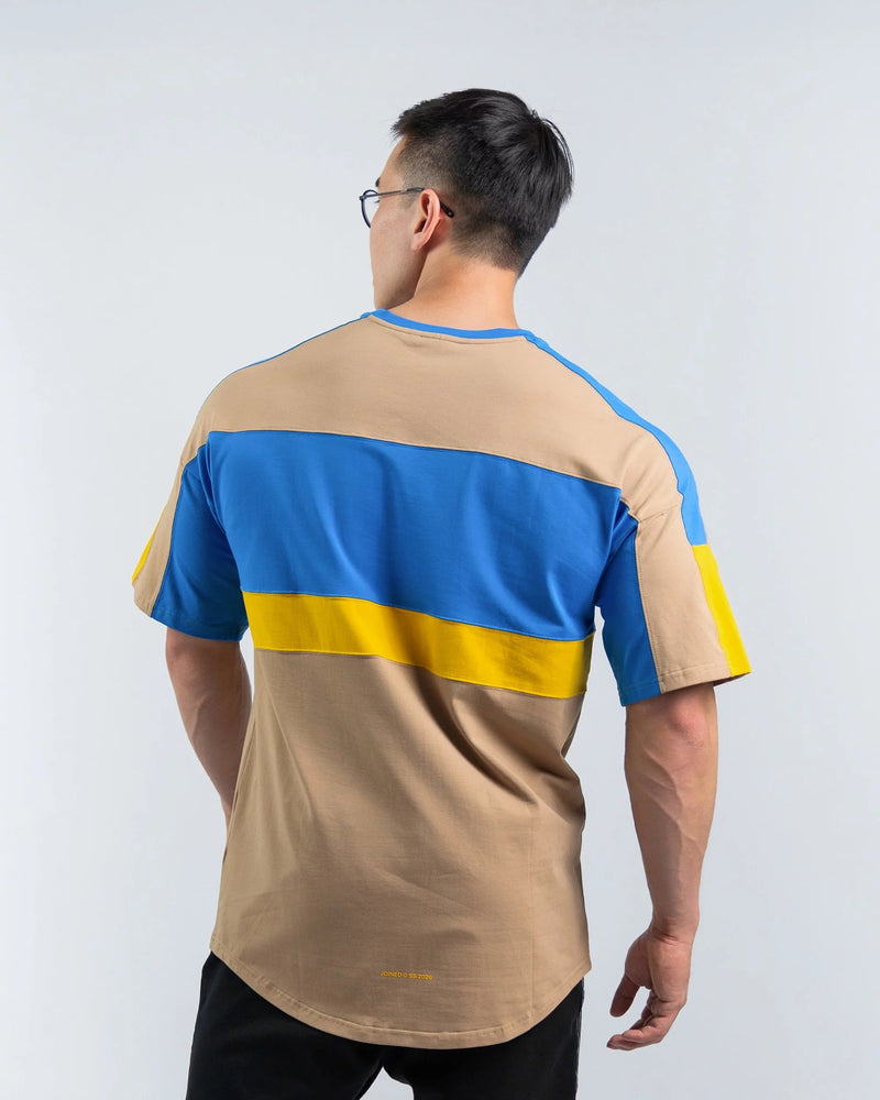 color_khaki/blue/yellow