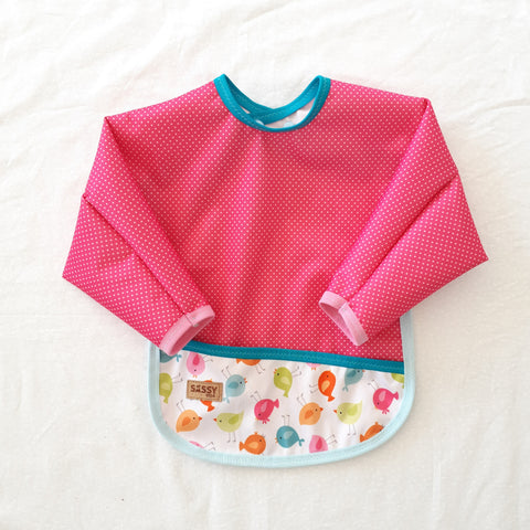 Bib with Sleeves, One Size