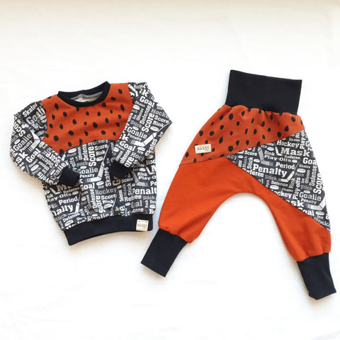 Set: Sweater 18 Months (86) + Pants 12-18 Months (80-86)