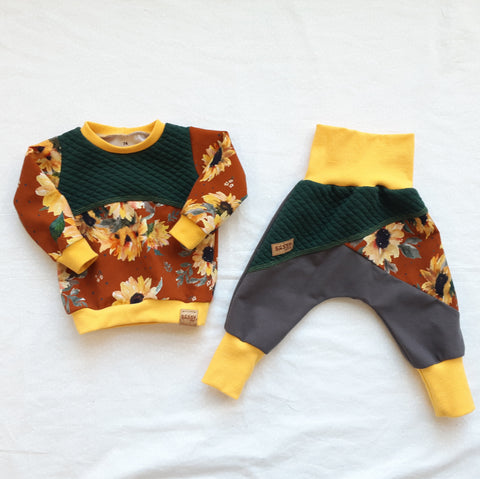 Set: Sweater 9 Months (74) + Pants 6-9 Months (68-74)