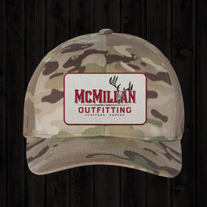 CAMO RECTANGLE LOGO PATCH HAT