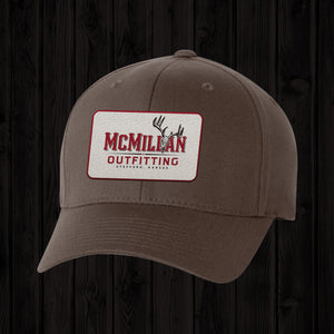 BROWN RECTANGLE LOGO PATCH HAT
