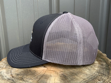 "Load image into Gallery viewer, McMILLAN OUTFITTING ""MIDNIGHT"" TRUCKER HAT"