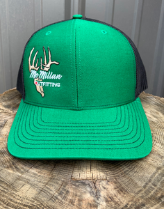 "McMILLAN OUTFITTING ""GREEN LIGHT"" TRUCKER HAT"