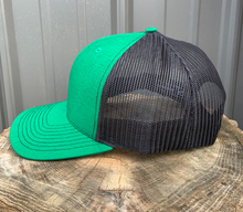 "Load image into Gallery viewer, McMILLAN OUTFITTING ""GREEN LIGHT"" TRUCKER HAT"