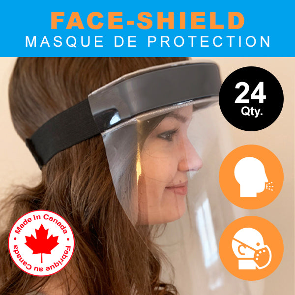 24x Face Shields / 24x Masques de protection facial