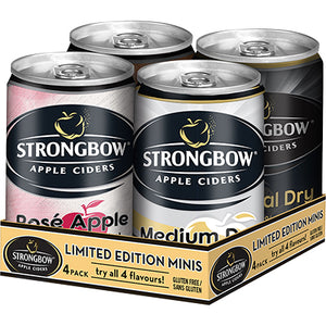 STRONGBOW - VARIETY PACK MINI CAN