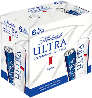 MICHELOB ULTRA SLEEK CAN