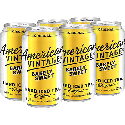 AMERICAN VINTAGE ICED TEA BARELY SWEET
