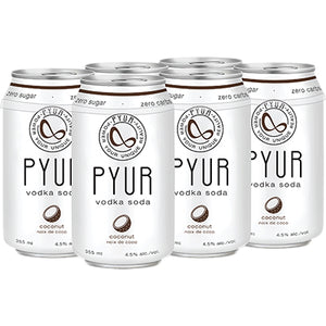 PYUR COCONUT VODKA SODA