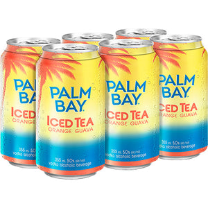 PALM BAY - ICED TEA ORANGE GUAVA CAN