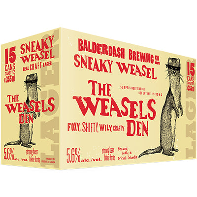 SNEAKY WEASEL CRAFT LAGER