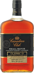 CANADIAN CLUB 12 YO SMALL BATCH