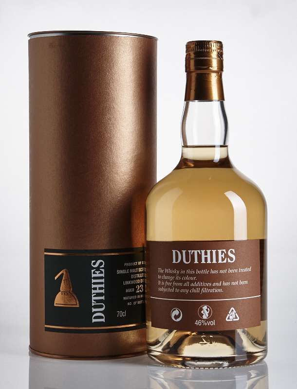 Duthies Linkwood 23YO 46% Single Malt Scotch Whisky 700ml