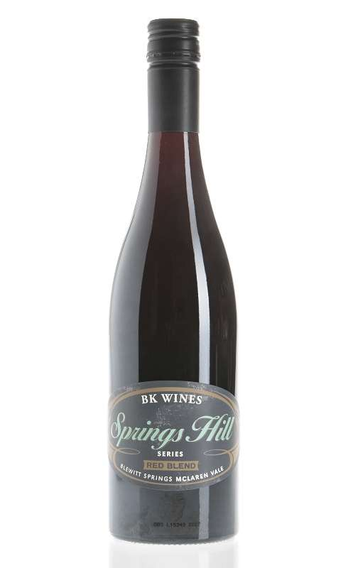 BK Springs Hill Red Blend 2015