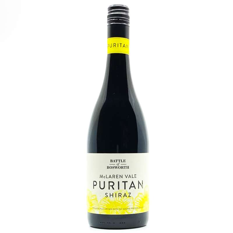 Battle of Bosworth Puritan Shiraz 2020 (Preservative Free) - Annandale Cellars