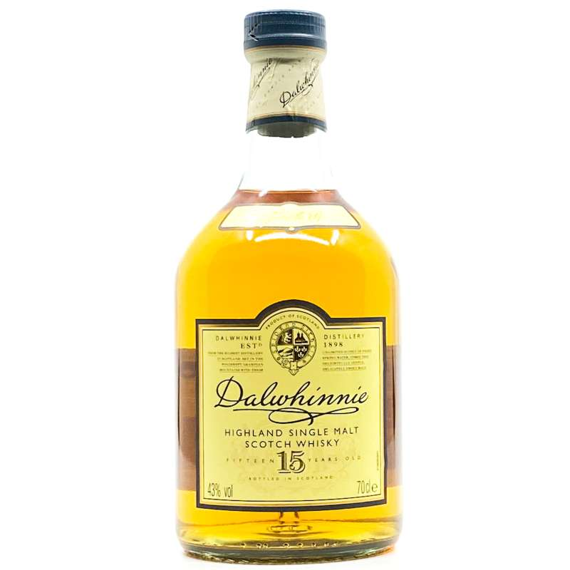 Dalwhinnie 15YO Classic Single Malt Scotch Whisky 700ml