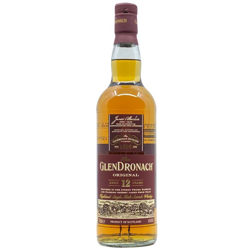 Glendronach 12YO Original Single Malt Scotch Whisky 700ml