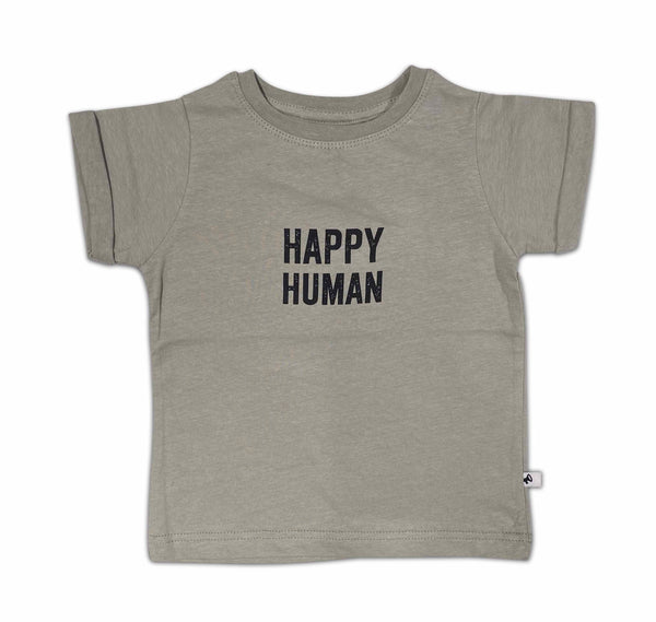 T shirt Happy Human Dolphin