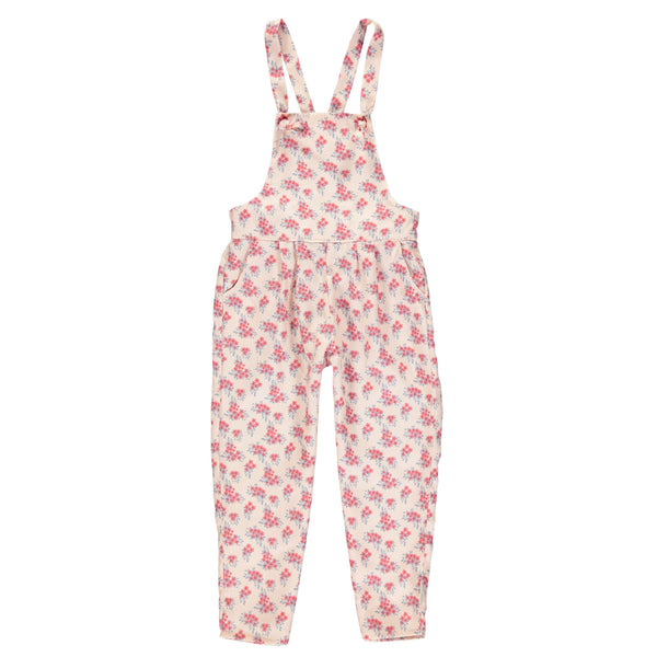 Jumpsuit ( pink flower )