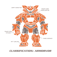 Load image into Gallery viewer, armorvor_orange_shirt_artwork