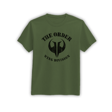 Load image into Gallery viewer, order_wing_division_army_green_shirt