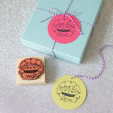 wedding favor tags for mini pies and cakes