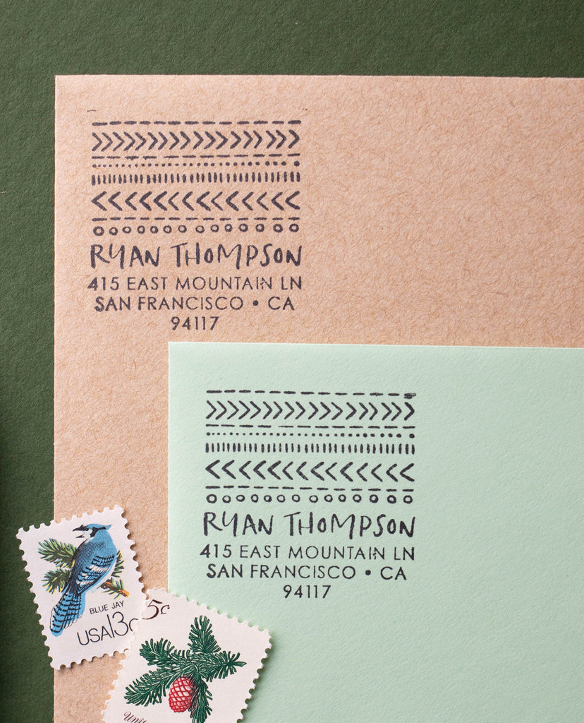Cozy Sweater Address Stamp