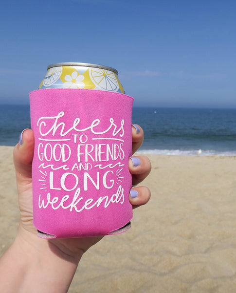Long Weekends Summer Can Cooler